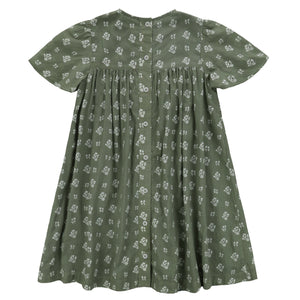 little cotton clothes   Mary Dress-Sedum Green Floral