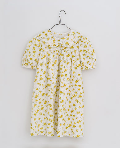 little cotton clothes  Althea dress-buttercup floral