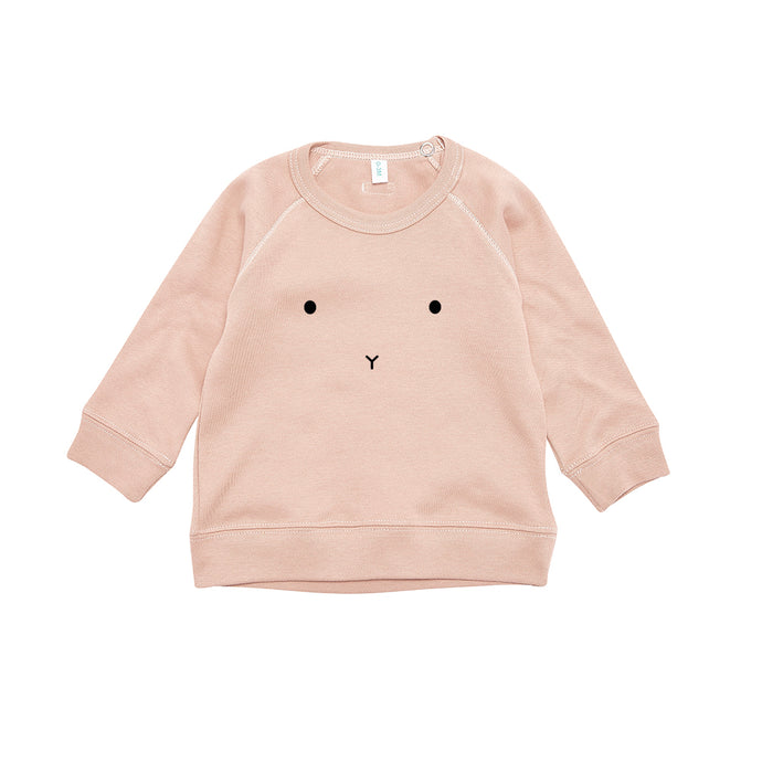 organic zoo Clay Sweatshirt Bunny