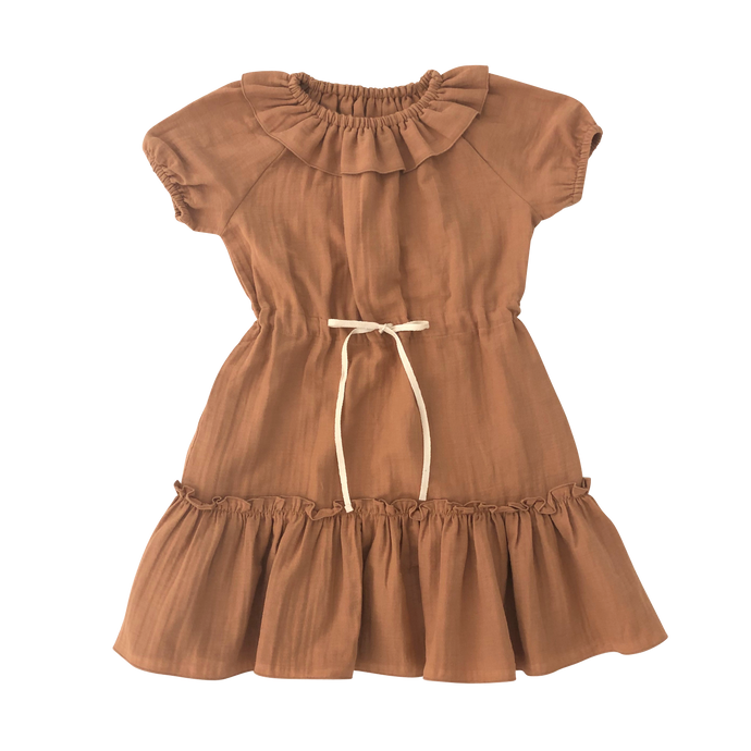 liilu  Clara dress-Terracotta