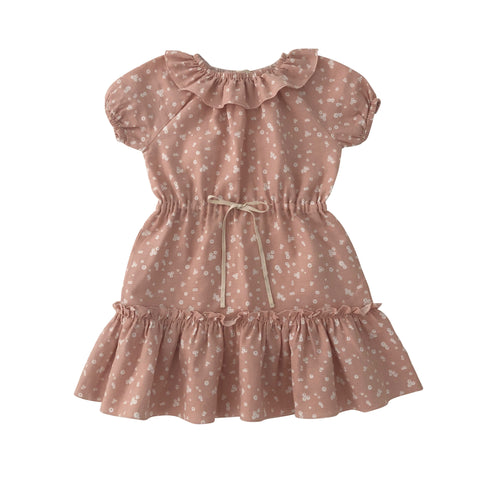 liilu  Clara dress-Flower petals