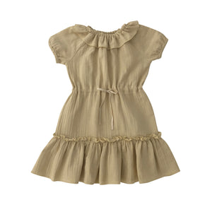 liilu  Clara dress-Honey