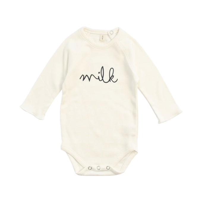 organic zoo Natural Bodysuit Milk