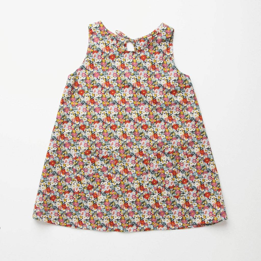 Nellie Quats  Tip Toe Dress-Libby Liberty Print