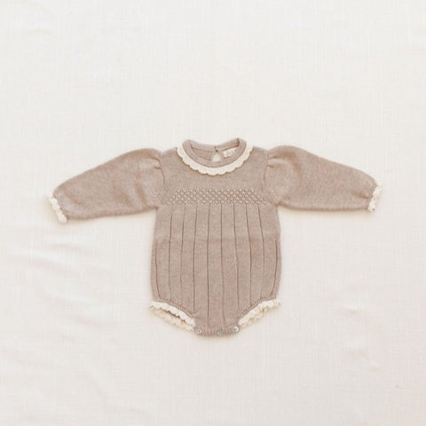 Fin&Vince adeline-romper-flax