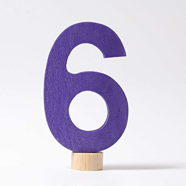 GRIMM'S Decorative Number 6
