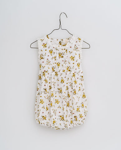 little cotton clothes  Afia romper-tansy floral