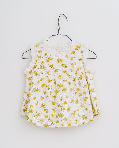 little cotton clothes   Rosa sun top-buttercup floral