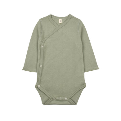 organic zoo Sage Wrap Over Bodysuit