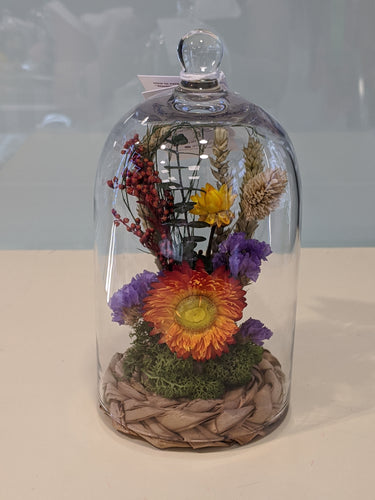 Summer meadow -glass dome - Floral Symphony.IE