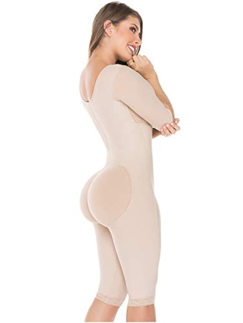 Salome 0525 Compression Garments After Liposuction Fajas Colombianas Post Surgery Silk Curves Ladies Shapewear Body Shapers