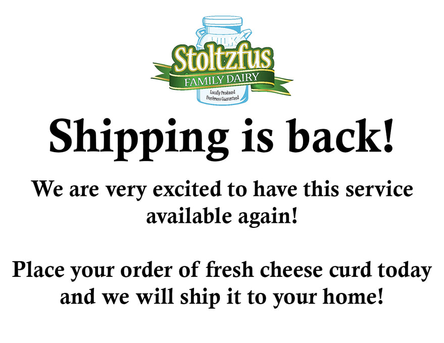 Shipping is Back!