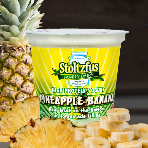 Banana Pineapple Yogurt