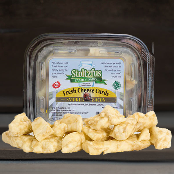 Cheese Curd Smoked Bacon Flavor