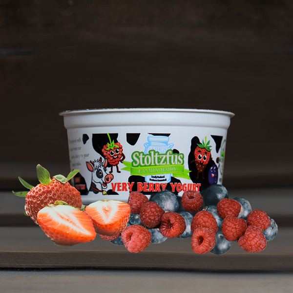 Very Berry High Protein Yogurt