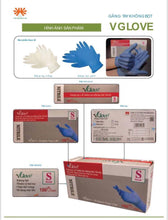 Load image into Gallery viewer, Disposable medical gloves Box of 100 pieces for a low price of $17