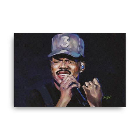 Chance The Rapper Canvas