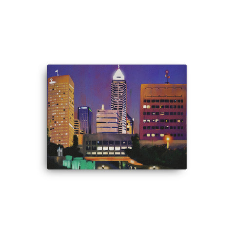 Indianapolis City Landscape Canvas
