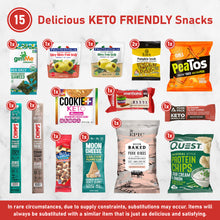 Load image into Gallery viewer, Elevate - Keto Friendly High Quality, Snack Box [ 15 Count ] Delicious and Satisfying Low Carb, Low Sugar, Gluten Free Snacks, Makes A Wonderful Gift For All Occasions --- FREE SHIPPING