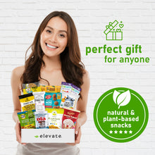 Load image into Gallery viewer, Elevate - DELUXE Vegan Gluten Free Snack Box [ 20 count ] -BESTSELLER on Amazon and Etsy!