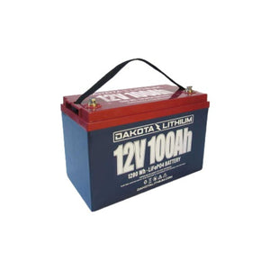 Dakota Lithium 12V 100AH Battery