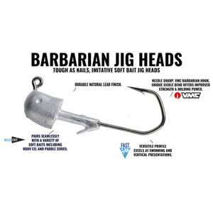 Hogy Classic Barbarian Jig Head (Single)