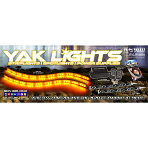 Yak Lights Flex Lights Series Wireless Complete Kayak Lighting Kit