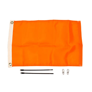 Yakattack Orange 12x18 Flag Kit for Visicarbon Pro and Visipole II