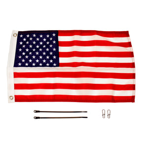 Yakattack American Flag 12x18 Flag Kit for Visicarbon Pro and Visipole II