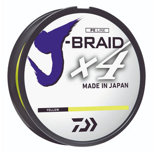 Daiwa J-Braid x4 4-Strand Braided Line Filler Spool