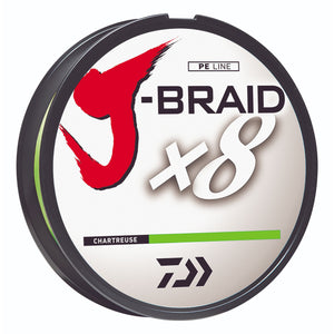 Daiwa J-Braid x8 8-Strand Braided Line Filler Spool