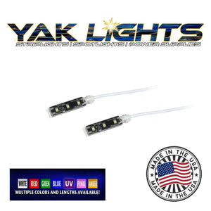 Yak Lights Flex Light Series Waterproof Ultra Low Profile Kayak LED Strips (Pair)