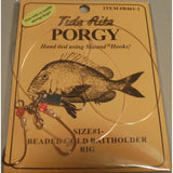 Tide Rite Porgy Beaded Gold Baitholder Rig