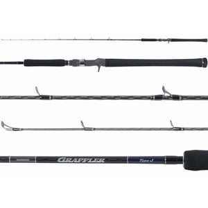 Shimano Grappler Type J Conventional Jigging Rods