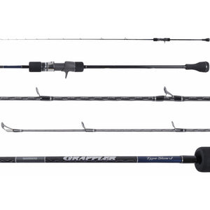 Shimano Grappler Type Slow J Conventional Jigging Rods