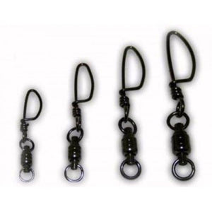 Tsunami Stainless Steel Ball Bearing Swivels with Welded Ring and Tournament Snap