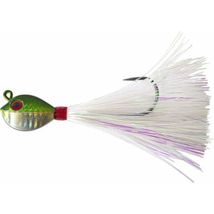Tsunami Fluke Mania Jig with Mylar Flash Dressing