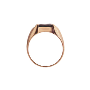 Chryso Men Gemstone Ring - Pink Long Cushion 2018-83