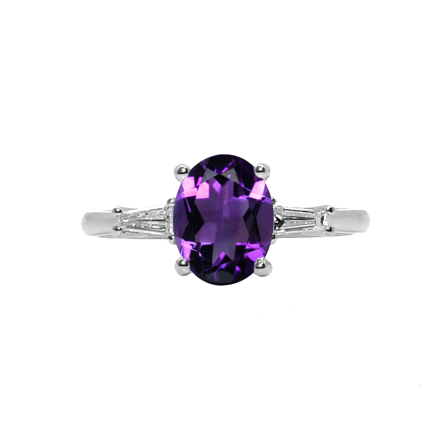 Ciarney Three Stone Ring - Semi Precious Oval 2020-189