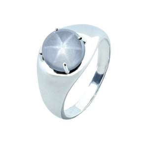 Ando Men Gemstone Ring Small Round - D800