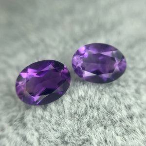 Amethyst Oval 1.1CT PAIR G023