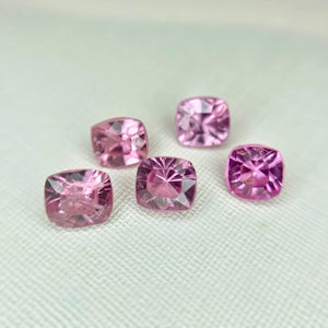 Pink Spinel Side Stones Cushion 0.22CT G026
