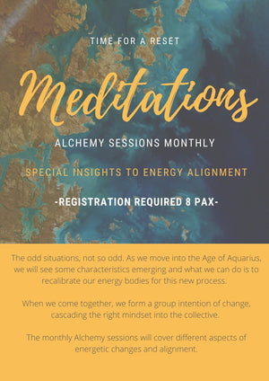 Meditation Class - Alchemy Sessions