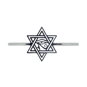 Sodeoh-Dow Star of David Eye of Horus Bangle