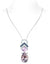 Lovito Drop Necklace - Pink Pear W076