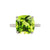 Yura Hidden Halo Solitaire Ring - Semi Precious Cushion 2020-186