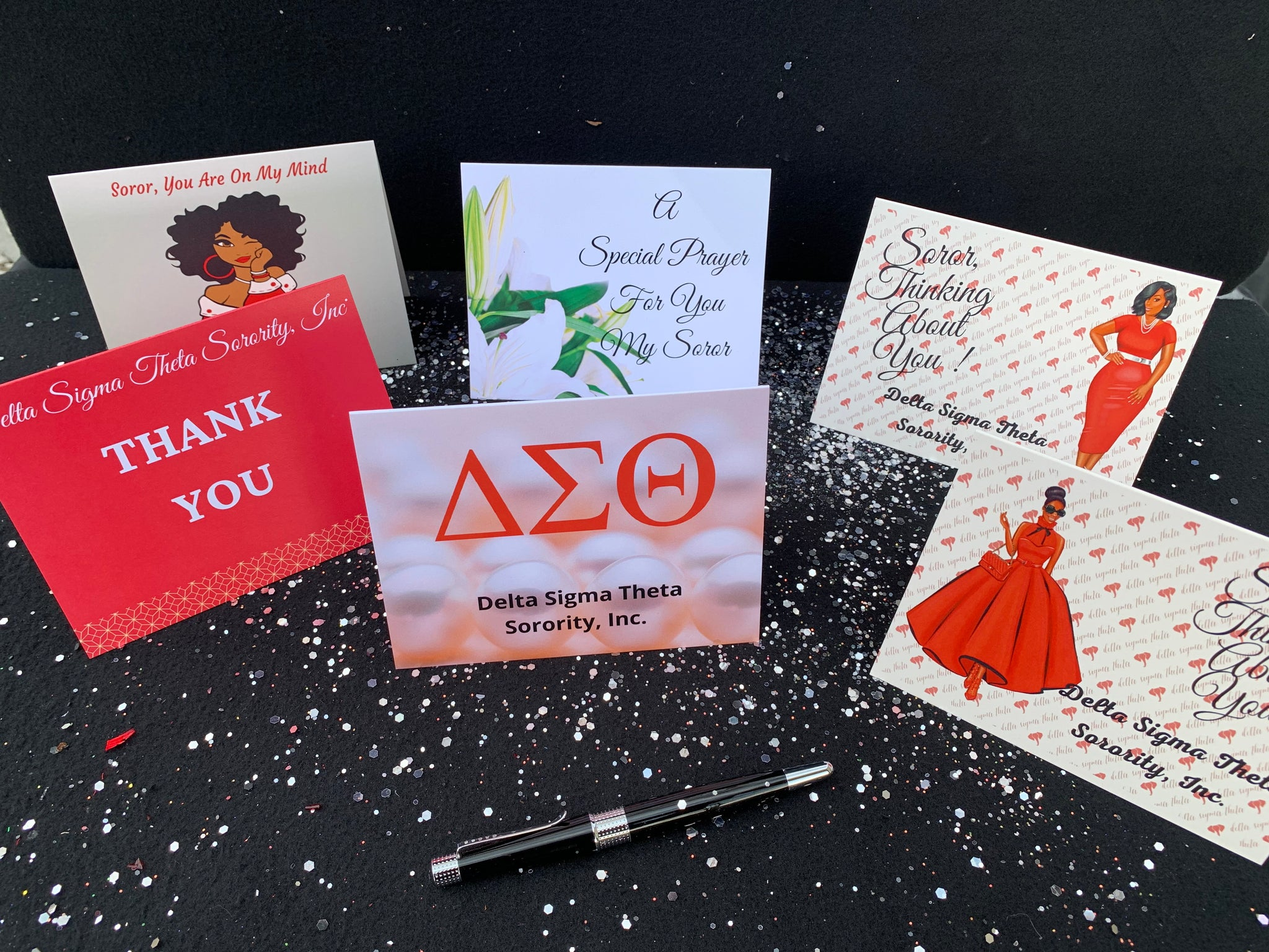 Delta Stationary Variety Pack - Thank you, Sympathy and Delta Blank