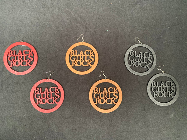 Black Girls Rock Earrings