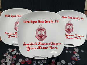 Customize Delta Commemorative / Souvenir Display Plates