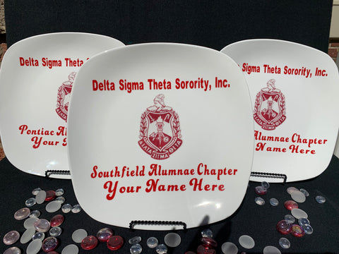 Customize Delta Souvenir Display Plates